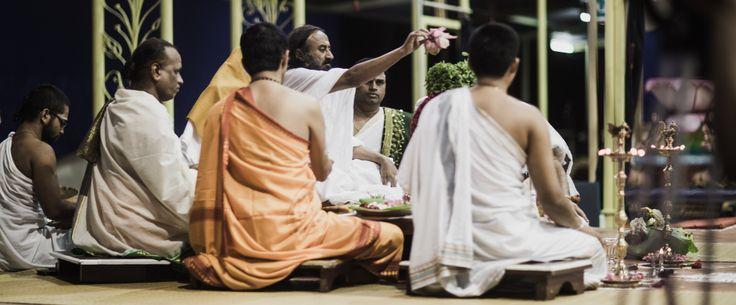 Navratri Puja by at The Art of Living International Ashram, #Bengaluru | #NavratriImages #NavratriPictures #NavratriPujas