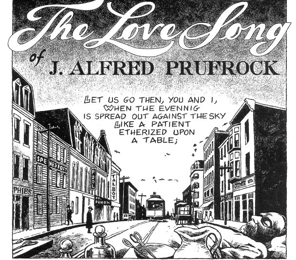best the love song of j alfred prufrock by t s eliot  julian peters illustration of the love song of j alfred prufrock