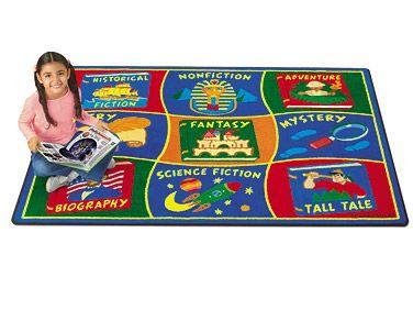 Reading Corner Classroom Carpet #LakeshoreDreamClassroom