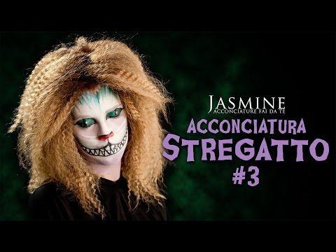 Come fare il frisè - Stregatto   Come acconciarsi per Halloween   Le Acconciature di Jasmine - YouTube