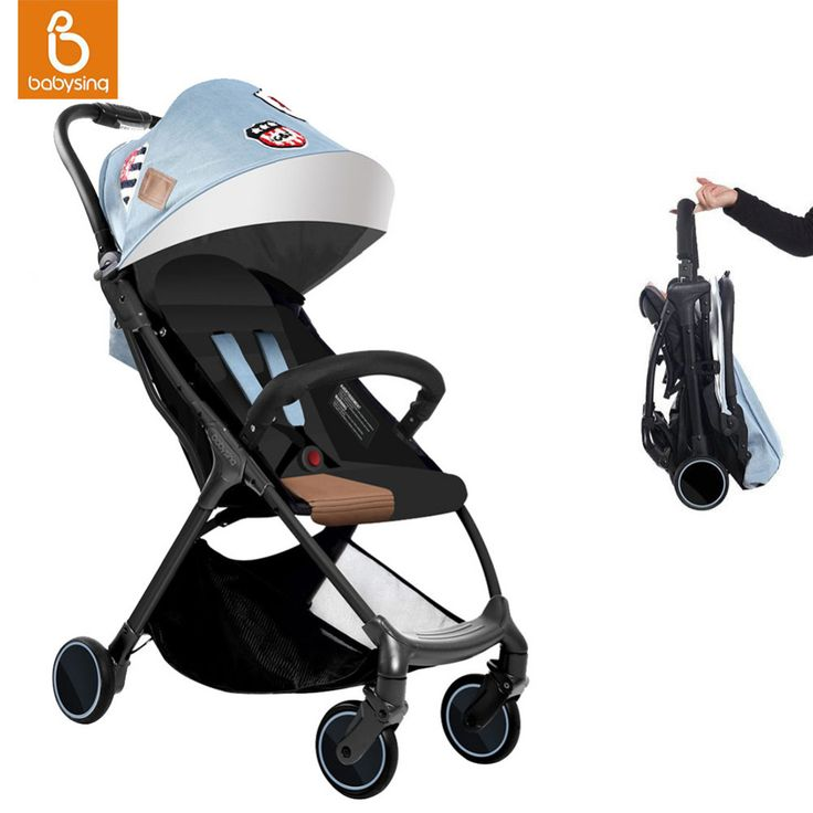 Babysing Baby Stroller Portable Lightweight Travel Strollers Easy Carry Foldable Umbrella Pram Baby Carriage with 5 Free Gifts