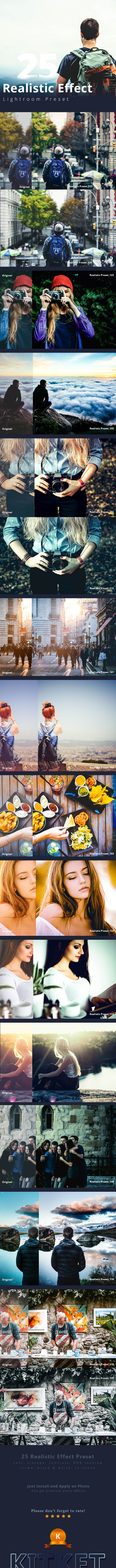 Realistic Effect 25 Lightroom Preset  • Only available here! → https://graphicriver.net/item/realistic-effect-25-lightroom-preset/17313364?ref=pxcr