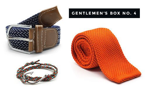 The Dapper Gentleman's Box No. 4 #dapper #gentlemen #giftbox #forhim