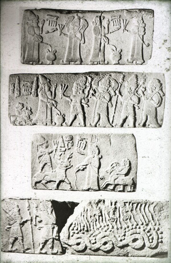 assorted frieze blocks