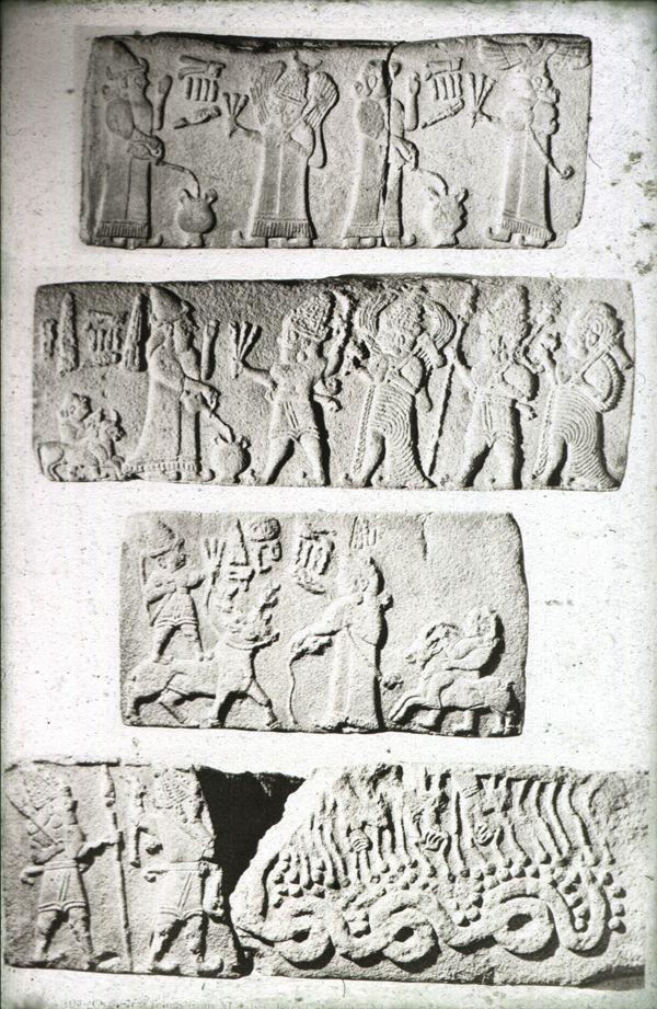 Malatya- Arslantepe assorted frieze blocks