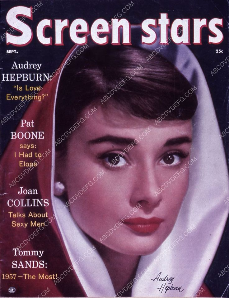 Audrey Hepburn Screen Stars magazine cover 35m-5169