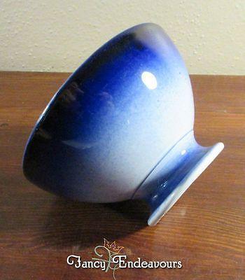 KG Luneville France Gradient Blue and White Cafe Au Lait Bowl