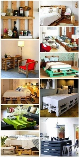 Pallets on pinterest - Ideas para reciclar unos palets ...