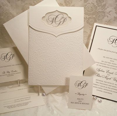 101 best formal elegant wedding invitations images on pinterest a formal wedding invitation from arlene segal customize yours with paper passionista stopboris Images