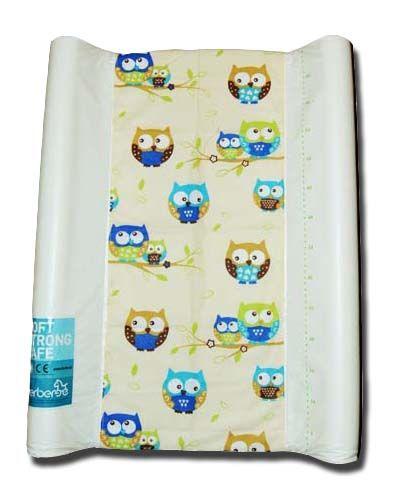 pokrowiec bawełniany uniwersalny z gumką na przewijak - Sowakolor/changing mat cover