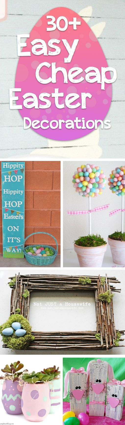17 beste idee n over diy easter decorations op pinterest pasen middelpunt pasen boom en - Ideeen decor ...