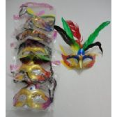72 units of Masquerade Mask [Sparkle & Feather]