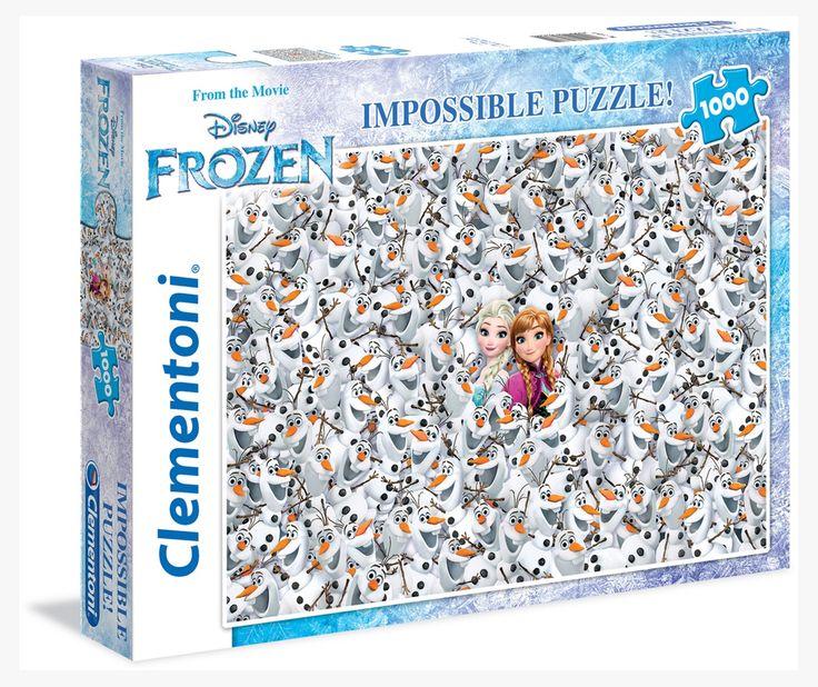 Clementoni Пазл «снеговики. Холодное Сердце» Clementoni, 1000 Деталей