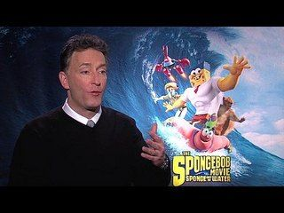 The Spongebob Movie: Sponge Out of Water: Tom Kenny Junket Interview --  -- http://www.movieweb.com/movie/the-spongebob-movie-sponge-out-of-water/tom-kenny-junket-interview