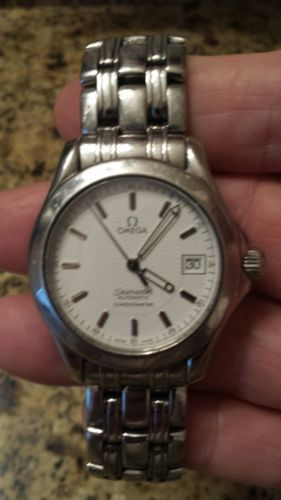 Omega seamaster 120 automatic mens watch