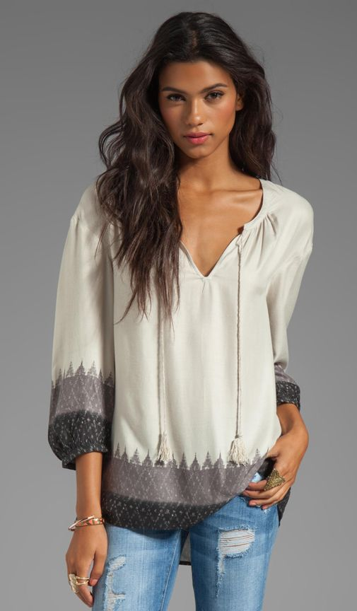 love this peasant top