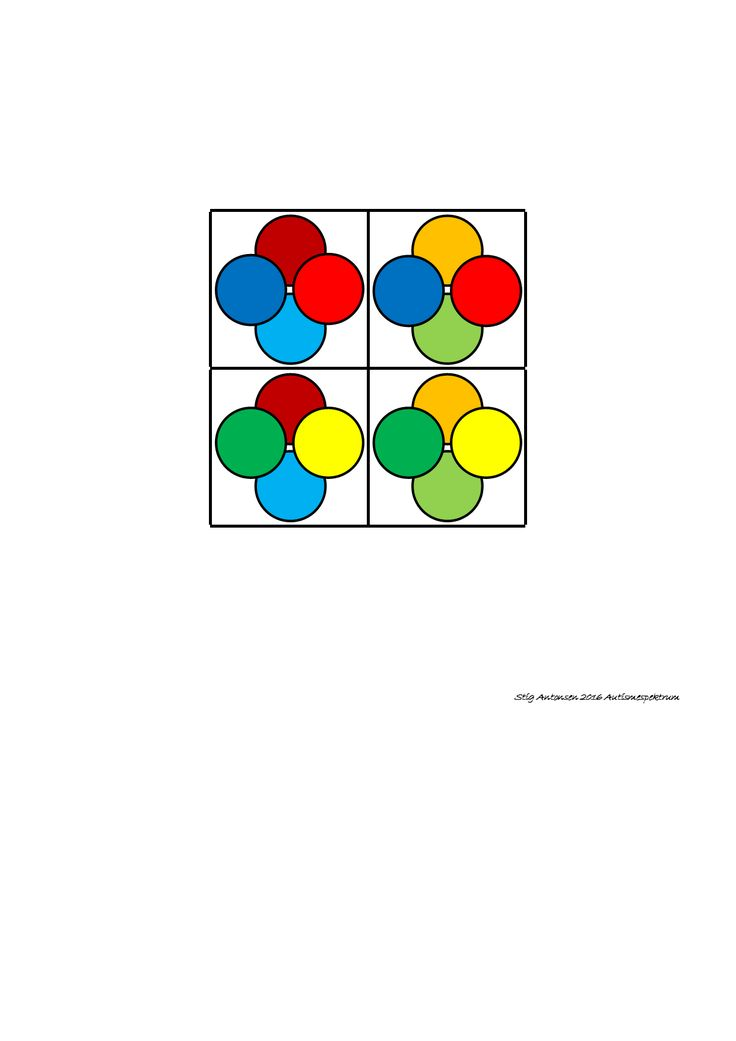Tiles for the super matrix. Find the belonging board on Autismespektrum on…