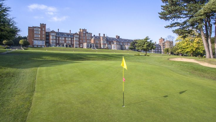 Selsdon Park Golf Course and Hotel in Croydon, South London.