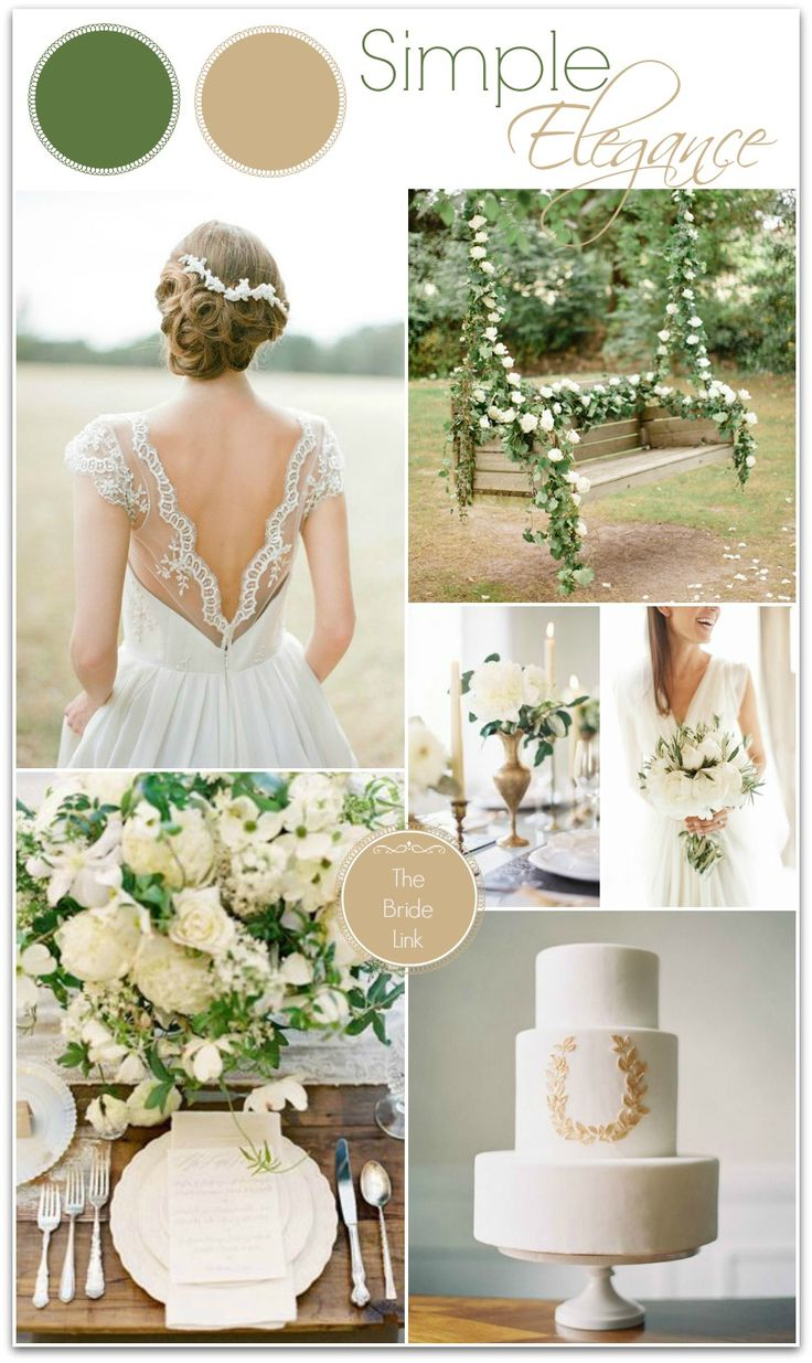 Olive Green Wedding Color Of The Year