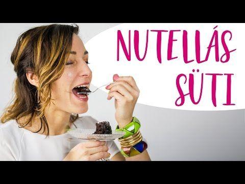 A világ leggyorsabb nutellás sütije ❤️Recept - INSPIRACIOK.HU | Csorba Anita - YouTube