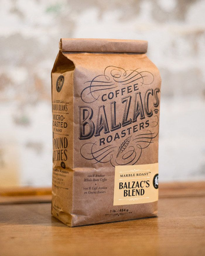 Balzacs Coffee Roasters - Package Design