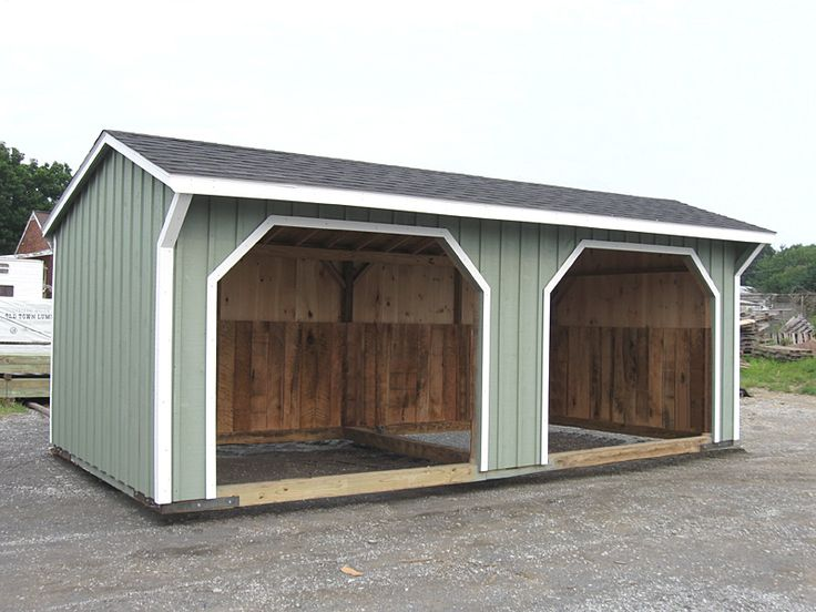 Best 25 run in shed ideas on pinterest horse run in for Best horse barn plans