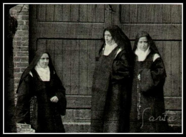 Therese with Mother Marie de Gonzague and her sister Pauline