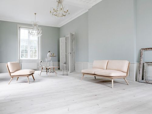 Murs gris clair - une ambiance douce pastel #grey #wall #pastel hues