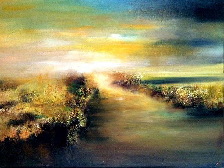 ARTFINDER: Fading Daylight by Kimberley  Harris - SOLD