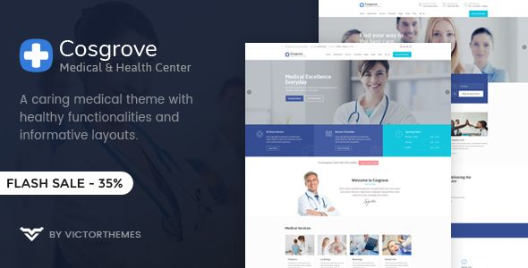 Wordpress Cosgrove - Medical  Healthcare WordPress Theme Download