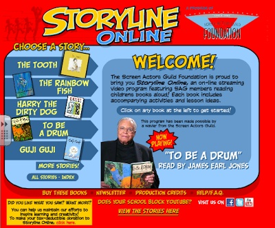 Elementary School Garden: Storyline Online for Tried it Tuesday