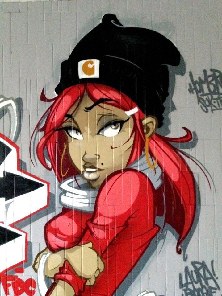 Graffiti - Artiste : Hombre SUK