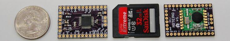 Moteino - low cost, super small Arduino clone