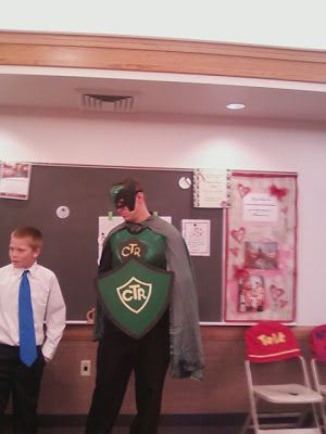 Captain Righteousness visits Primary!  A fun way to get kids excited about CTR.  This site has some good stuff for YW & Primary