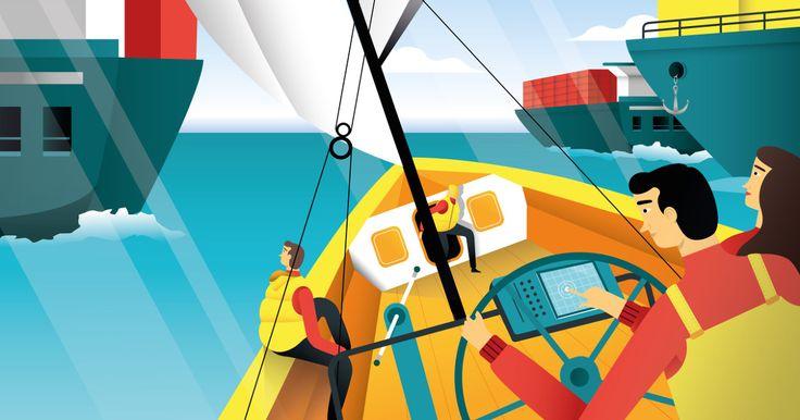 Google Ocean Race Calender (not realised)