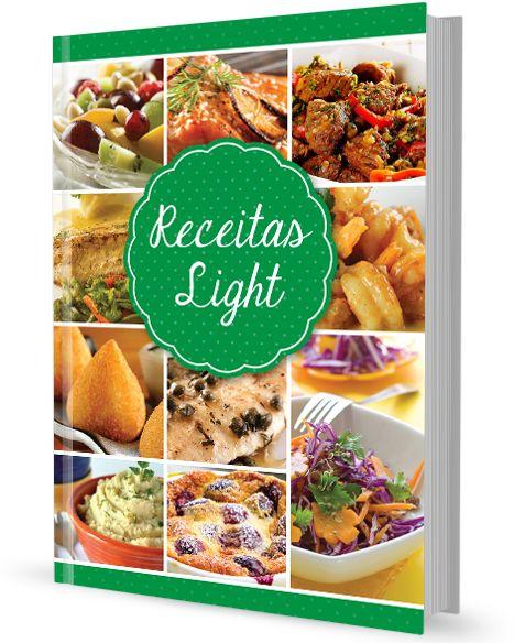 Gosta de comer? Mas está de dieta? Temos a solução! Conheça as nossas Receitas Light. Faça já o download Gratuito no site: http://www.receitasdecozinha.net/livro_receitas_light #receitas #livros #ReceitasLight #entradas #peixe #carne #sobremesas #poucascalorias