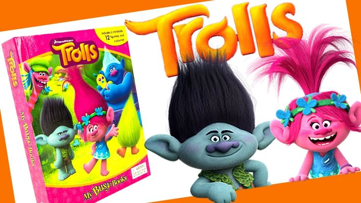 The New Dreamworks Trolls Movie Toys My Busy Books with Characters like Branch and Poppy! Watch for more videos from the new Trolls moving coming soon!  This set includes the new Trolls characters Branch Poppy Creek DJ Suki Biggie Smidge Satin and Chenille Cooper Guy Diamond Fuzzbert and Cloud Guy.  The Toy Bunker is a toy review channel featuring fun kids toys like Transformers Shopkins Disney Cars Legos Monster Jam Monster Trucks and My Little Pony. We also love featuring and McDonalds…