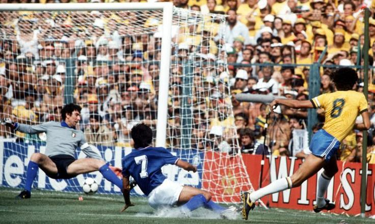 Socrates' equaliser against Italy wasn't enough to dodge a 3-2 defeat
