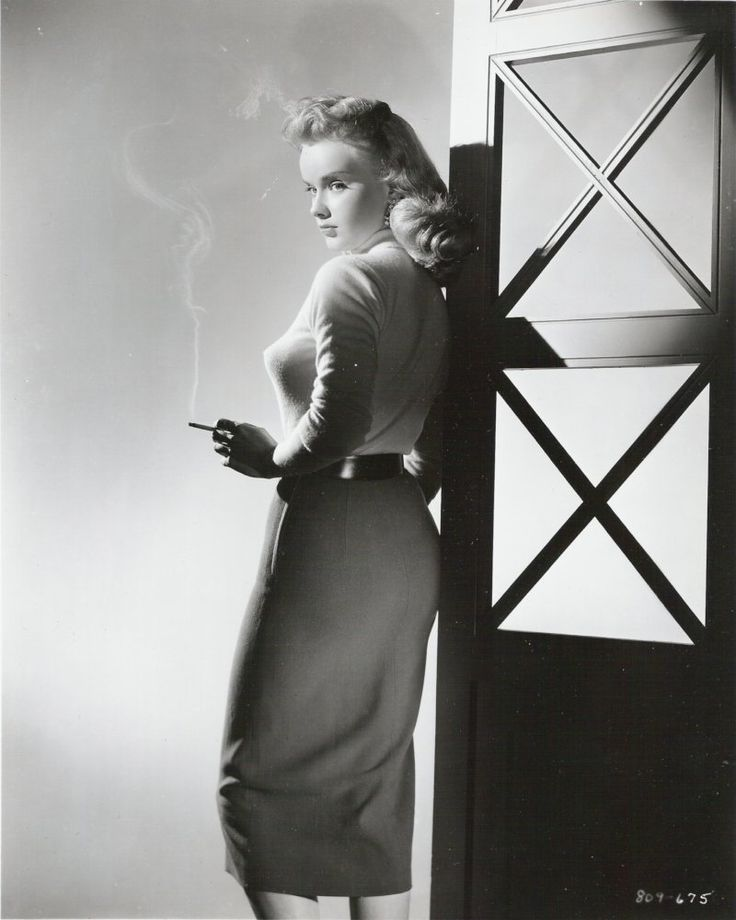 """Anne Francis in """"Girl of the Night"""" (1960)"""