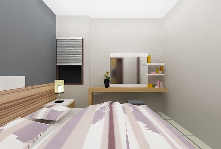 2.nd Floor Bed Room    Read our blog http://ambong.com/Blog/review/membeli-rumah-dengan-panorama-perbukitan-yang-berhawa-sejuk-dan-tidak-jauh-dari-pusat-kota-2/