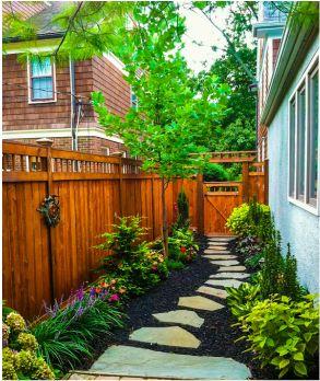 448 best side yard landscaping idea images on pinterest for Side yard landscaping ideas
