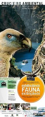 Crucero ambiental por los ARRIBES  Europarques 2012
