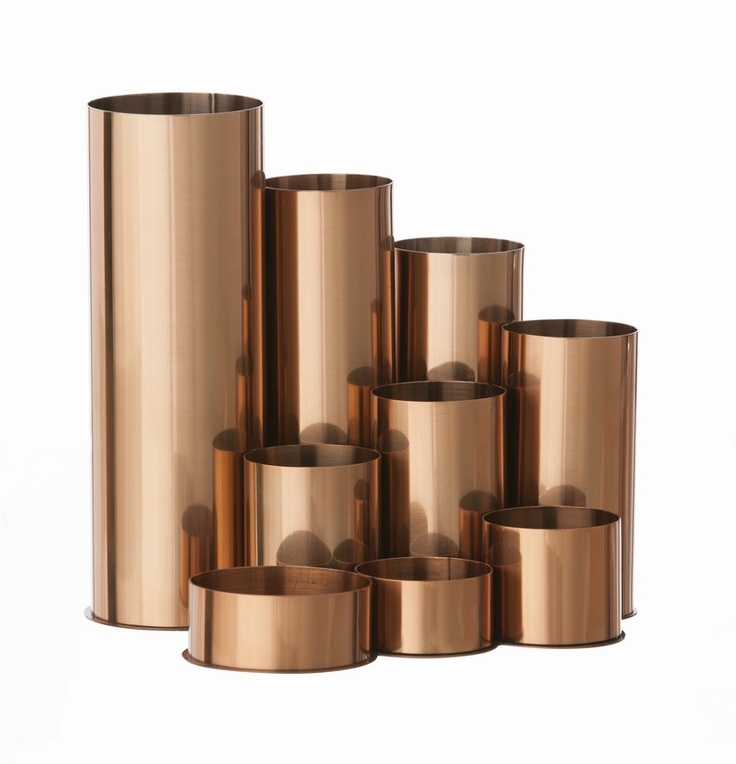 Copper Pencil Holder from Ferm Living