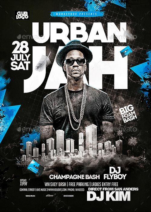 Big Artist Flyer Template - https://ffflyer.com/big-artist-flyer-template/ Enjoy downloading the Big Artist Flyer Template created by MonkeyBOX   #Club, #Dance, #Dj, #Electro, #Event, #Festival, #HipHop, #Nightclub, #Party, #Rap, #Urban