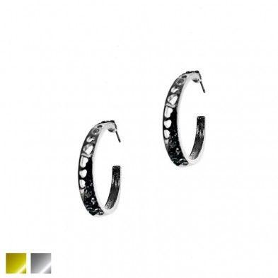 B. d'oreilles - Anneaux ouvragé et cristaux Code:D41211654 - 6.99 $