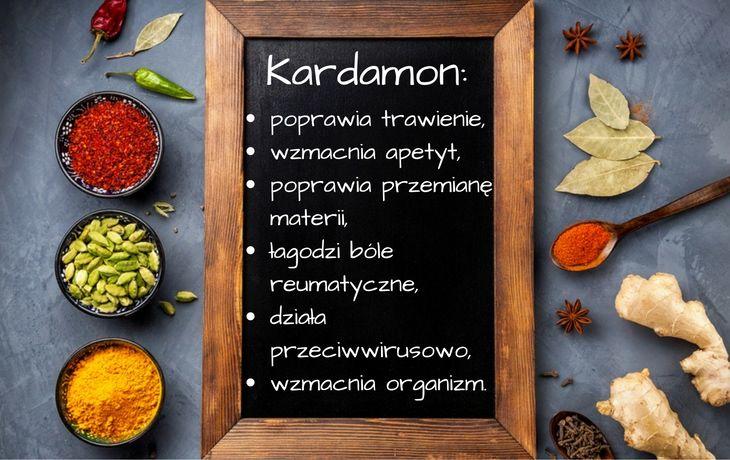 Kardamon należy do najdroższych przypraw na świecie - plasuje się na trzecim miejscu zaraz za szafranem i wanilią. Charakteryzuje się intensywnym, korzennym smakiem i aromatem. Dzięki licznym możliwościom zastosowania i właściwościom, kardamon został okrzyknięty królową przypraw i postawiony w jednym szeregu z królem - pieprzem. Dowiedz się dlaczego kardamon jest tak poważaną przyprawą. #kardamon #przyprawy
