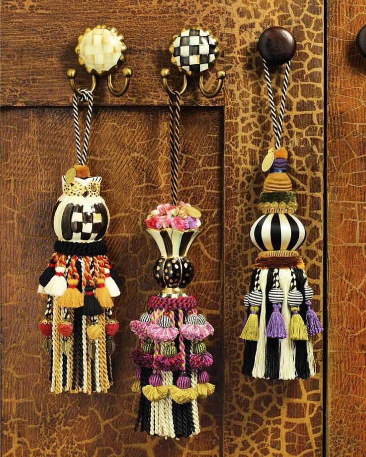 Pin by Susan LeSueur on Bits of Character Curtain tie