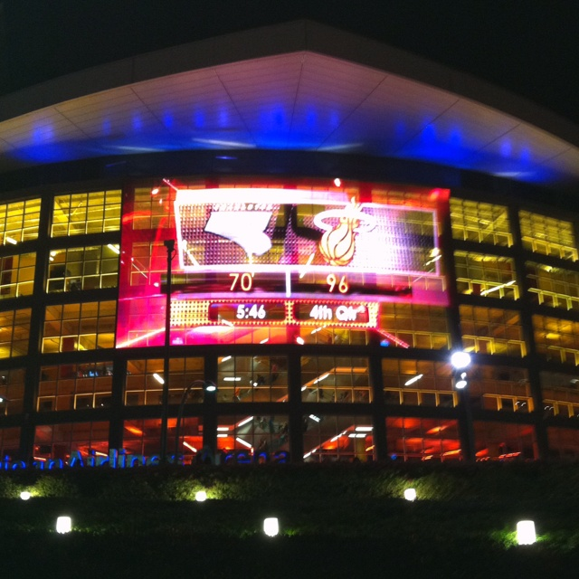 American Airlines Arena (Home of the Miami Heat)