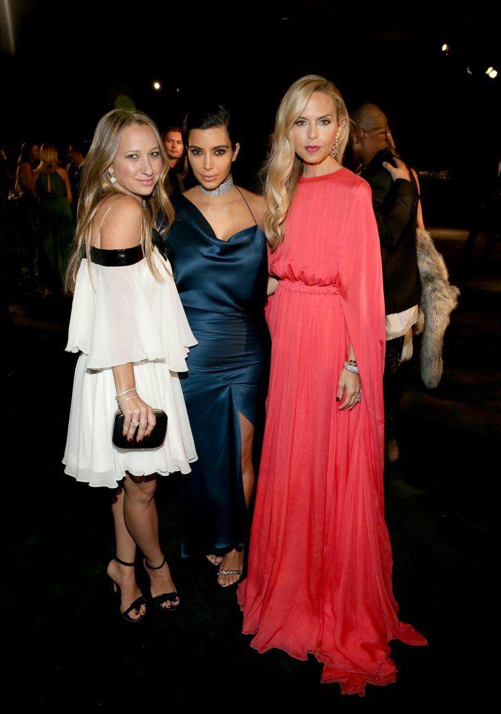Pin for Later: Les Stars Ont Échangé Leurs Costumes D'Halloween Pour Des Looks Plus Glamour Jennifer Meyer, Kim Kardashian, et Rachel Zoe