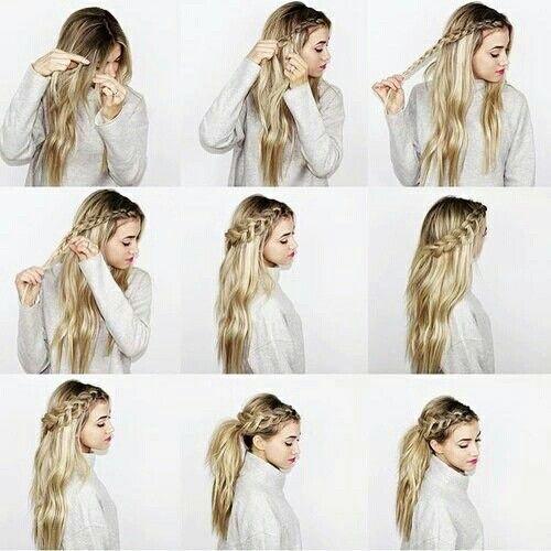 los peinados con trenzas paso a paso ms bonitos para la temporada te vers